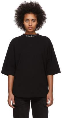 Palm Angels Black Classic Logo Over T-Shirt