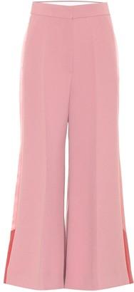 Roksanda Hasani high-rise crepe culottes