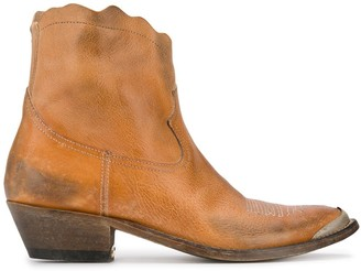 Golden Goose Young western boots