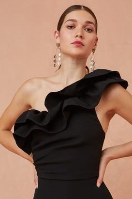 Keepsake COMPOSE MINI DRESS black