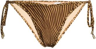 Zimmermann Leopard-Print Bikini Bottoms