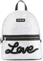 Love Moschino glitter backpack