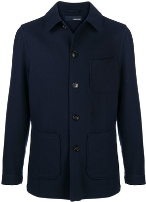 Lardini Long Sleeve Patch Pocket Jacket