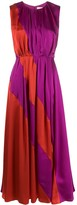 Roksanda Cora colour-block silk dress