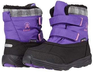 Kamik Sparky (Little Kid/Big Kid) (Purple) Girl's Shoes
