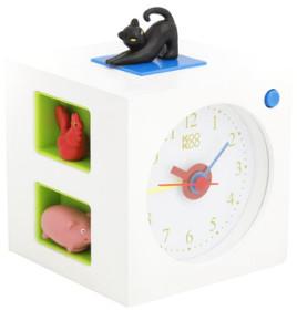 KooKoo - White Kids Alarm Clock - White