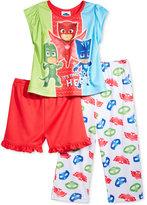 3-Pc. PJ Masks Pajama Set, Toddler Girls (2T-5T)