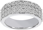 JCPenney MODERN BRIDE Lumastar 1 CT. T.W. Diamond 14K White Gold Anniversary Wedding Band