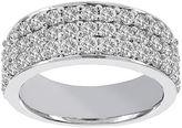 JCPenney MODERN BRIDE Lumastar 1 CT. T.W. Diamond 14K White Gold Anniversary Wedding Band