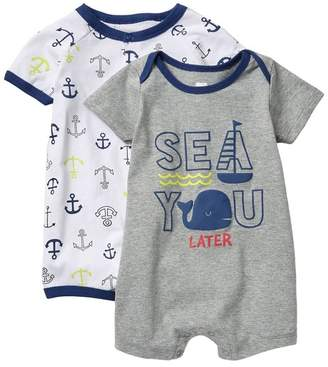 Koala Baby Sea You Later Rompers - Pack of 2 (Baby Boys 0-12M