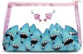 Forever 21 Shark Print Makeup Bag