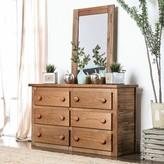 Salamone 6 Drawer Double Dresser Harriet Bee