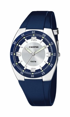 Calypso Mens Analogue Quartz Watch with Plastic Strap K5753/2