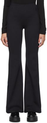 The Row Black Delon Scuba Trousers