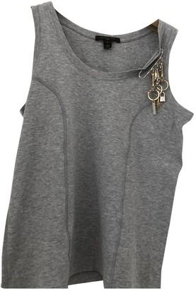 Louis Vuitton Grey Cotton Top for Women