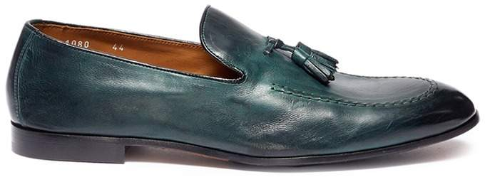 Doucal's 'Pana' tassel leather loafers