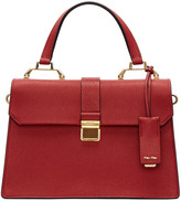 Miu Miu Red Large Top Handle Bag