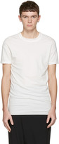 Isabel Benenato White Double Collar T-shirt
