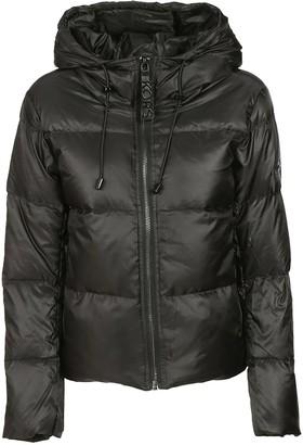 Michael Kors Drawstring Hood Padded Jacket