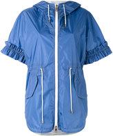 Fay short-sleeve hooded coat