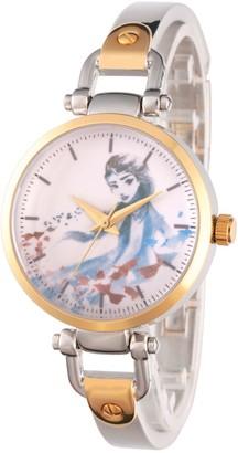 Disney Frozen 2 Women's Elsa Two-Tone Watch