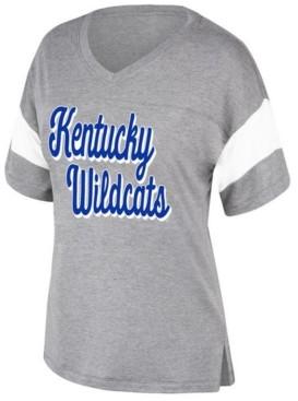 Top of the World Women's Kentucky Wildcats Brunch Colorblock T-Shirt