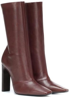 Yeezy Leather boots (SEASON 7)