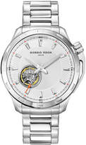 Giorgio Fedon Men's Timeless VII Open Heart Stainless Steel Watch, 42mm