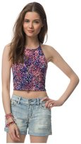 Aeropostale Womens Ditsy Floral Halter L