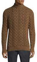 Salvatore Ferragamo Long-Sleeve Wool Sweater