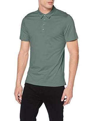 S'Oliver BLACK LABEL Men's 12.905.35.6489 Polo Shirt, (Pale Pink 4173), Large
