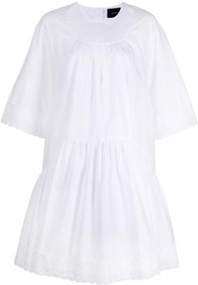 Simone Rocha Lace Trim Shift Dress