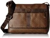 Tommy Hilfiger Darren Signature Flap Messenger Bag