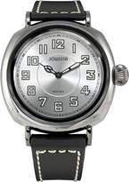 Jowissa Men's Atavus Luminous Dial Black Leather Watch