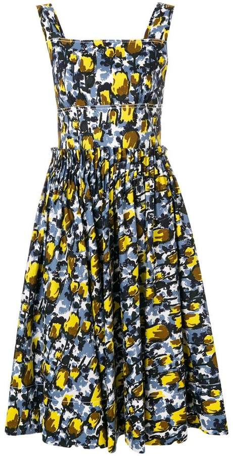 Marni printed summer dress