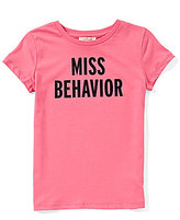 Kate Spade Big Girls 7-14 Miss Behavior Short-Sleeve Top