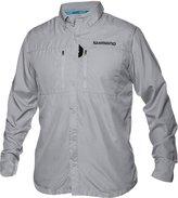 Shimano Volans Technical Vented Long Sleeve Button Down Fishing Shirt