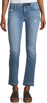 RtA Curtis Low-Rise Straight-Leg Jeans