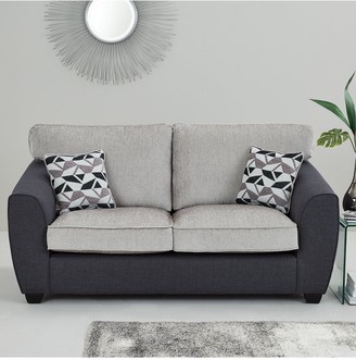 Juno Fabric Compact Standard Back 3 Seater + 2 Seater Sofa Set (Buy and SAVE!)