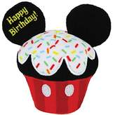 "Kids Preferred Disney Baby 4.5"" Plush HAPPY BIRTHDAY CUPCAKE, MICKEY MOUSE"