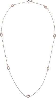 Sydney Evan 14k Diamond Oval-Station Necklace