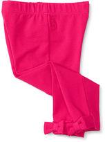 Ralph Lauren Bow-Back Cotton-Blend Legging