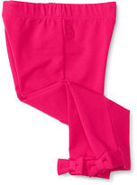 Ralph Lauren Girl Bow-Back Jersey Legging