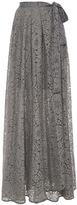 Anna Sammarone Lace Long Wrap Skirt