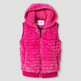 Stevies Girls' Faux Fur Vest