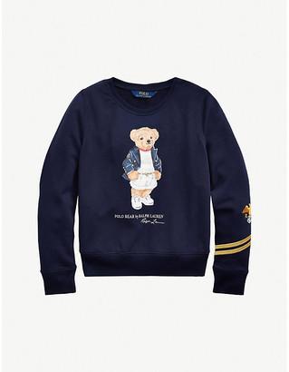 Ralph Lauren Polo Bear cotton-blend sweatshirt 2-14 years