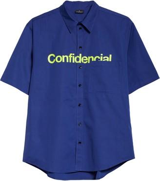 Marcelo Burlon County of Milan Confidencial Pocket Shirt