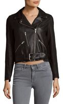 Veda Leather Cop Jacket