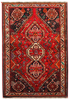 "F.J. Kashanian Persia Hand-Knotted Rug (3'10""x5'6"")"