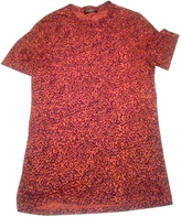 Balmain Red Linen T-shirt
